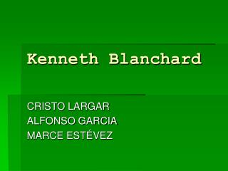 Kenneth Blanchard