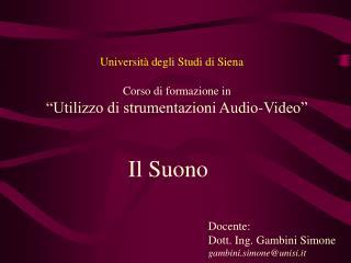 Universit� degli Studi di Siena