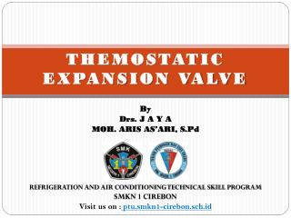 THEMOSTATIC EXPANSION VALVE