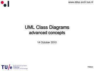 UML Class Diagrams  advanced concepts