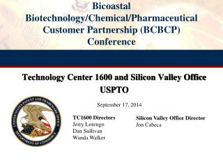 Bicoastal Biotechnology/Chemical/Pharmaceutical Customer Partnership (BCBCP ) Conference