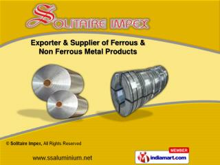 Titanium Metal & Nickel Alloys