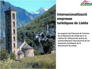 Internacionalització empreses  turístiques de Lleida