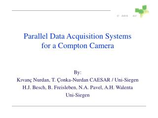 Parallel Data Acquisition Systems   for a Compton Camera