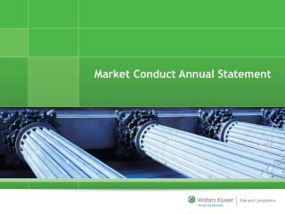 Market Conduct Annual Statement
