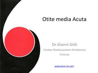 Otite media Acuta