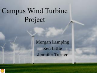 Campus Wind Turbine Project