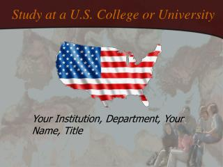 Study at a U.S. College or University
