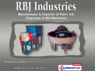 Paint And Ink Stirrer &  Paint And Ink Disperser