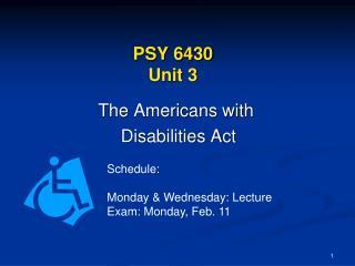 PSY 6430 Unit 3