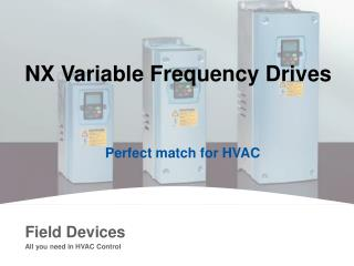 NX Variable Frequency Drives