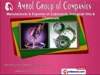 Industrial Oil & Mould Oil