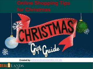 Online Shopping Tips for Christmas