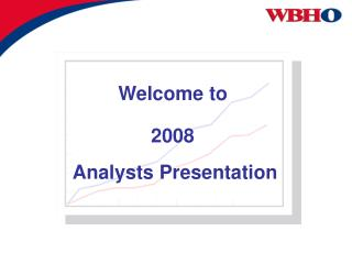 Analysts Presentation
