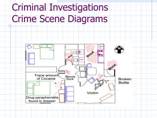 Criminal Investigations Crime Scene Diagrams