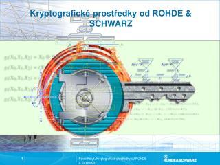 Kryptografick é prostředky od ROHDE  & SCHWARZ
