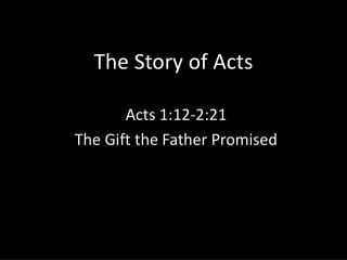 The Story of Acts
