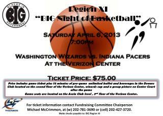 "Region XI  ""BIG Night of Basketball"""