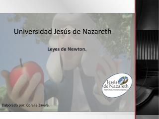 Leyes de Newton.