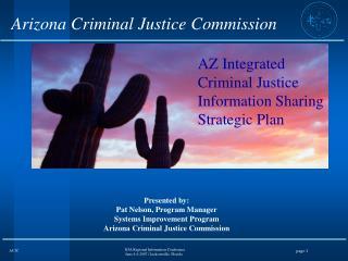 Arizona Criminal Justice Commission