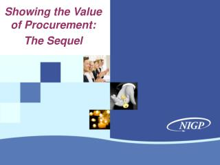 Showing the Value of Procurement: The Sequel