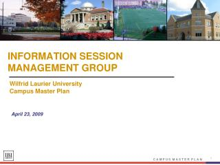 INFORMATION SESSION MANAGEMENT GROUP