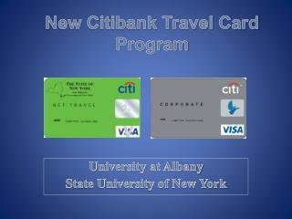 New Citibank Travel Card Program
