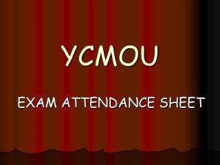 YCMOU