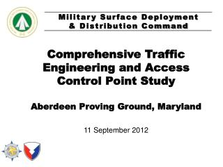 Comprehensive Traffic Engineering and Access Control Point Study