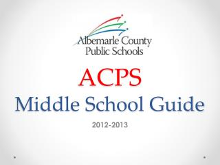 ACPS Middle School Guide