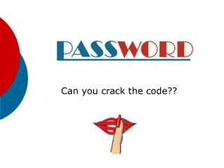 Can you crack the code??