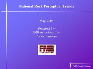 National Rock Trends