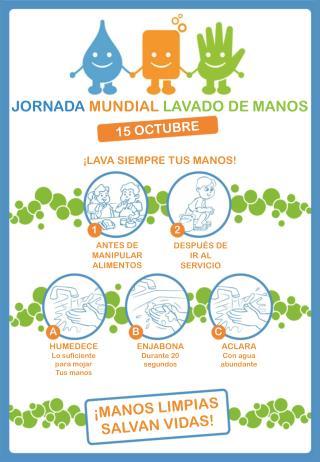 JORNADA  MUNDIAL  LAVADO DE MANOS