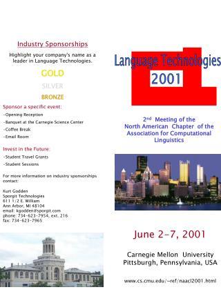 June 2-7, 2001