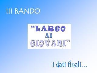 III BANDO