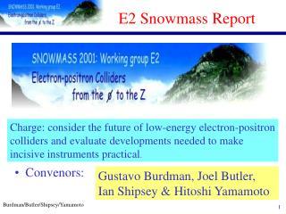 E2 Snowmass Report