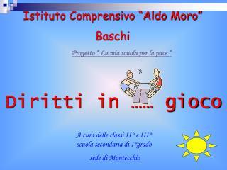 """Istituto Comprensivo """"Aldo Moro""""  Baschi"""