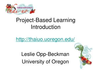 Project-Based Learning Introduction