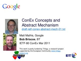 ConEx Concepts and Abstract Mechanism draft-ietf-conex-abstract-mech-01.txt