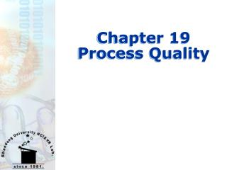 Chapter 19  Process Quality