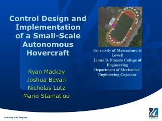 Control Design and Implementation  of  a Small-Scale Autonomous Hovercraft