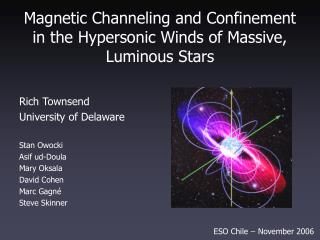 Magnetic Channeling and Confinement in the Hypersonic Winds of Massive, Luminous Stars