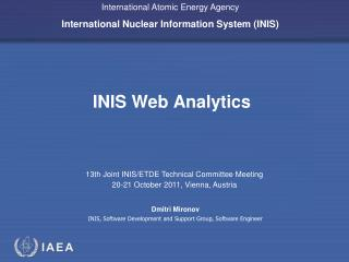 INIS Web Analytics