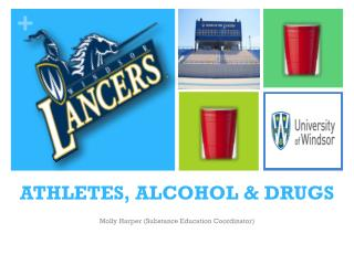 ATHLETES, ALCOHOL & DRUGS