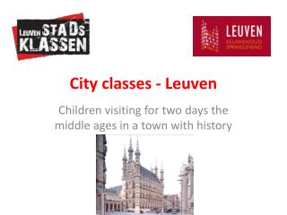 City classes - Leuven