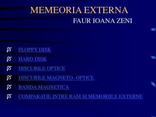 MEMEORIA EXTERNA