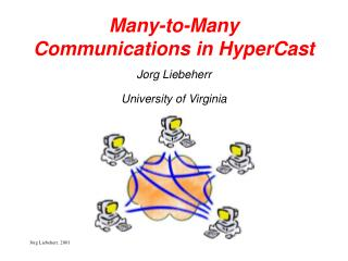 Many-to-Many Communications in HyperCast