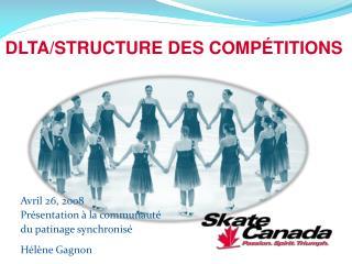 Avril 26, 2008  Présentation à la communauté  du patinage synchronisé Hélène Gagnon