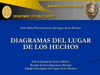 Serie Sobre Procesamiento del Lugar de los Hechos DIAGRAMAS DEL LUGAR DE LOS HECHOS