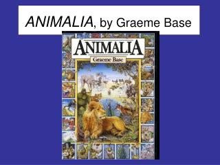ANIMALIA , by Graeme Base